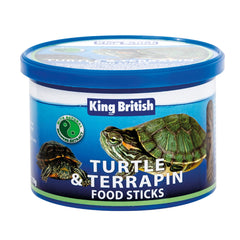 King British Turtler & Terrapin Food Sticks