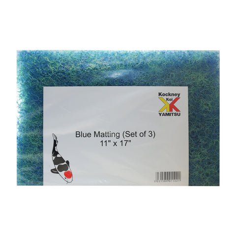 Kockney Koi Blue Japanese Matting  11