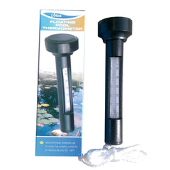 Lotus Floating Pool Thermometer & box