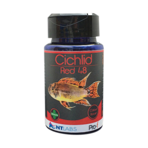 NT Labs Pro-f Cichlid Red 48 Granules