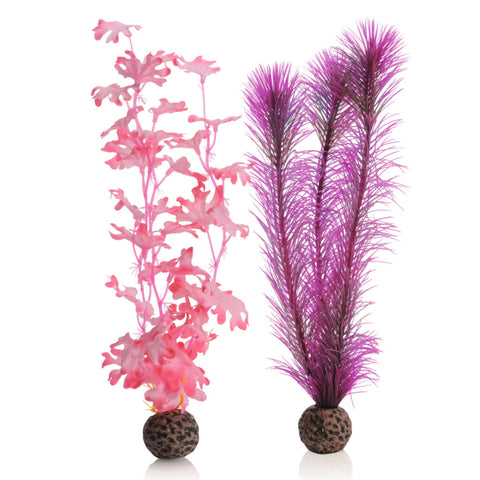 Oase biOrb Artificial Plants Pink Kelp pack of 2