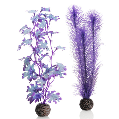 Oase biOrb Artificial Plants Purple Kelp pack of 2