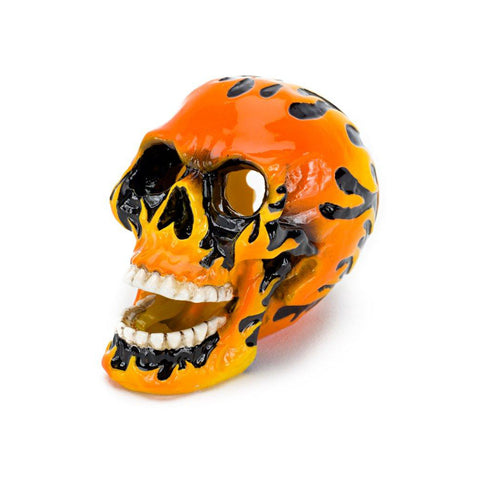 Penn-Plax Fire Skull Orange