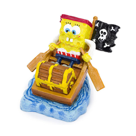 Penn-Plax Pirate SpongeBob Resin Ornament