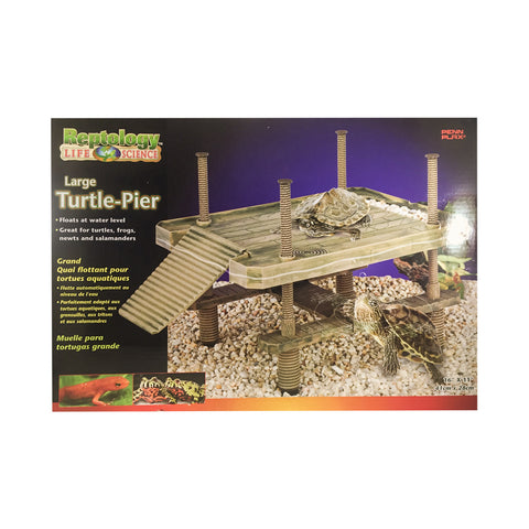 Penn-Plax Reptology Turtle Pier Large