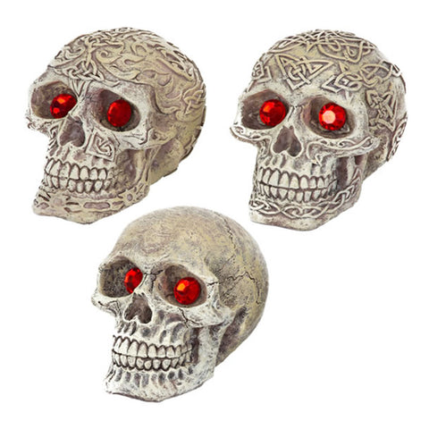 Penn-Plax Skull-Gazers with Jewelled Eyes