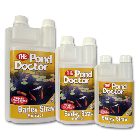 TAP The Pond Doctor Barley Straw Extract range