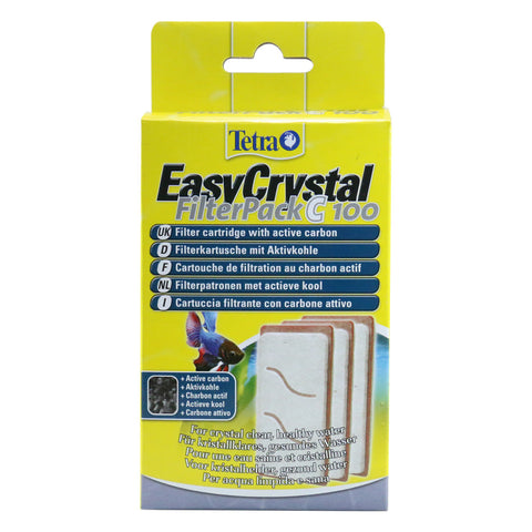 Tetra EasyCrystal Filter Pack C100