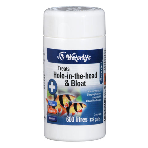 Waterlife Hole-in-the-head & Bloat 80 Tablets
