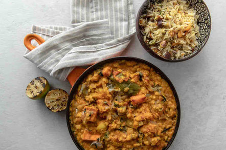 Sweet Potato and Puy Lentil Dahl