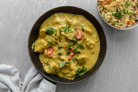 Tamarind and Coconut Chicken Curry