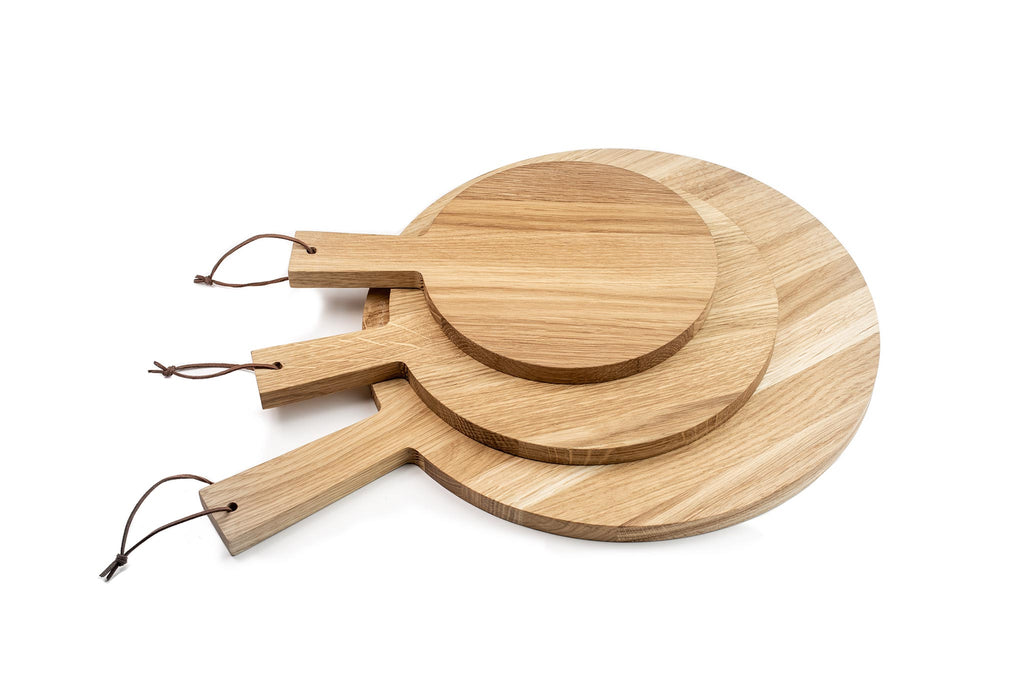 set of 3, Oak cheese boards