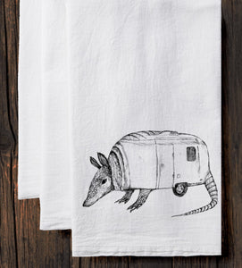 Airmadillo Tea Towel