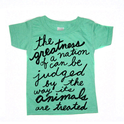 Animal Society: kids tee