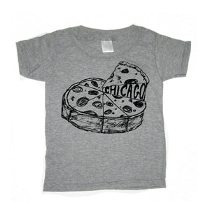 Chicago Pizza : kids t-shirt