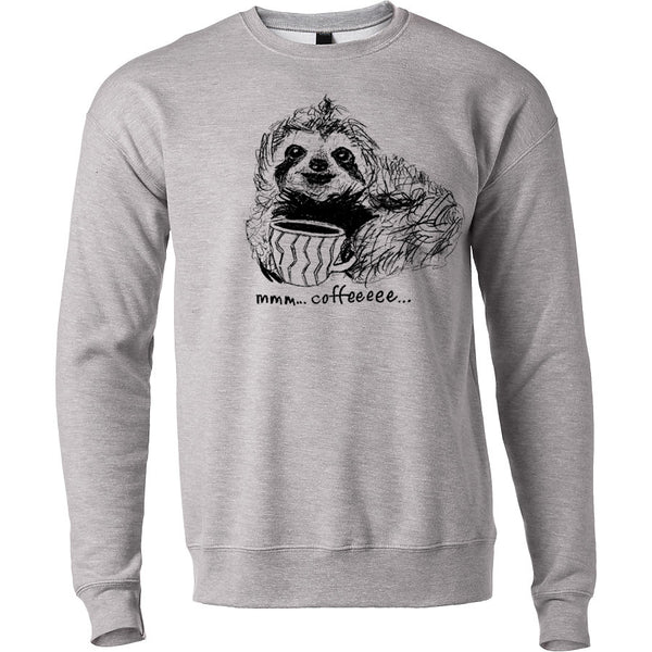 Coffee Sloth Sweatshirt