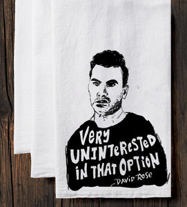David Rose : Tea Towel