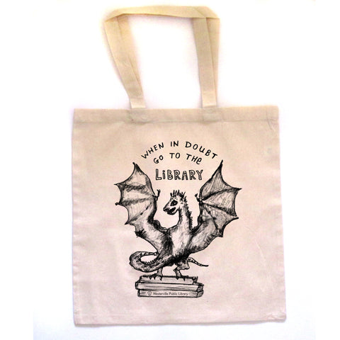 Book Dragon : tote