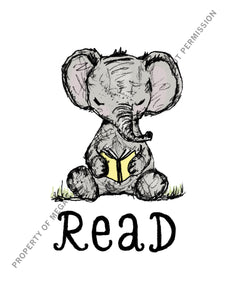 Elephant Read Digital Download (Print)