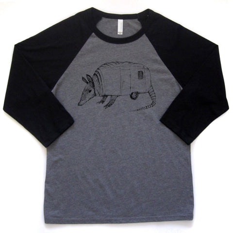 Airmadillo : unisex baseball tee, Unisex Apparel - Megan Lee Designs