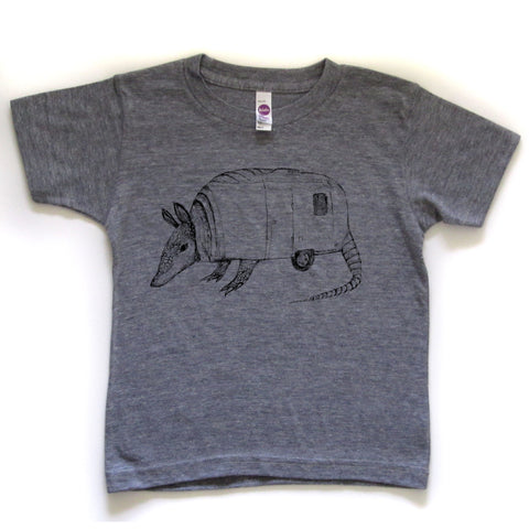 Armadillo : kids tee - Megan Lee Designs
