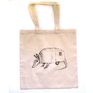 Airmadillo : tote bag - Megan Lee Designs