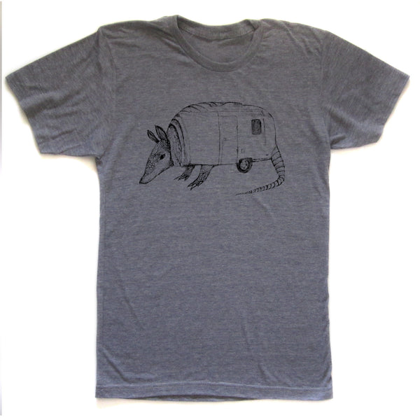 Airmadillo : unisex tri-blend tee - Megan Lee Designs