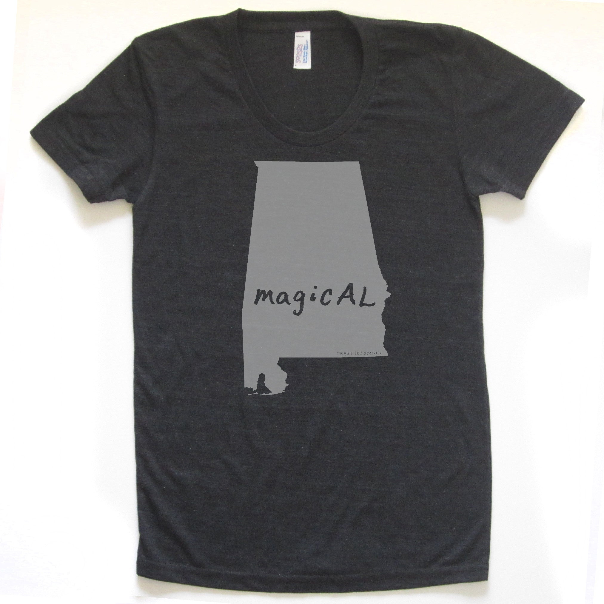 SALE Alabama : magicAL women tri-blend tee - Megan Lee Designs