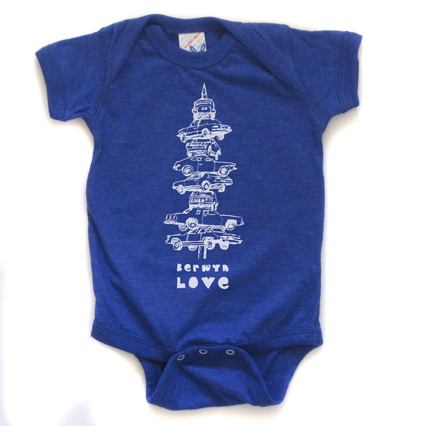 Berwyn Love : bodysuit (colored), Baby Apparel - Megan Lee Designs