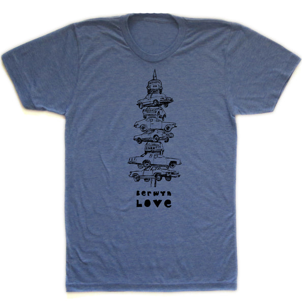 Berwyn Love : unisex tri-blend tee, Unisex Apparel - Megan Lee Designs