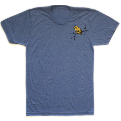 Bird and Branch : unisex tri-blend tee, Unisex Apparel - Megan Lee Designs