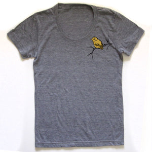Bird and Branch : women tri-blend tee