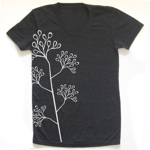Blossom : women tri-blend tee, Women's Apparel - Megan Lee Designs