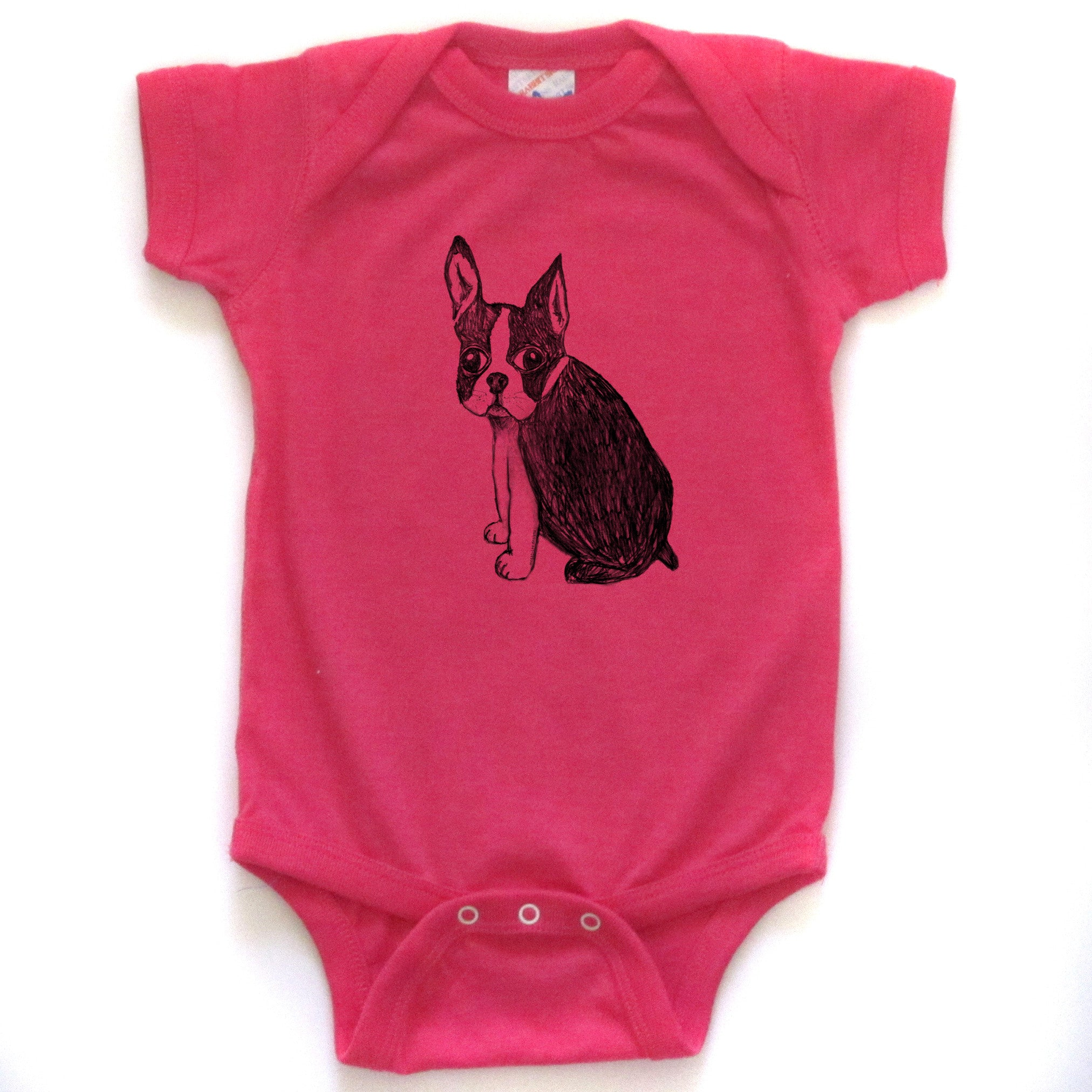 Boston Terrier : bodysuit