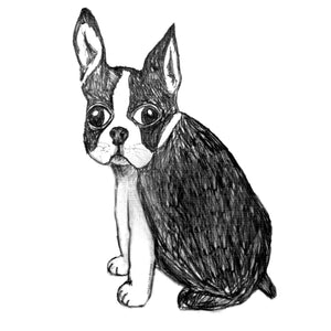 Boston Terrier : tote bag, Accessories - Megan Lee Designs