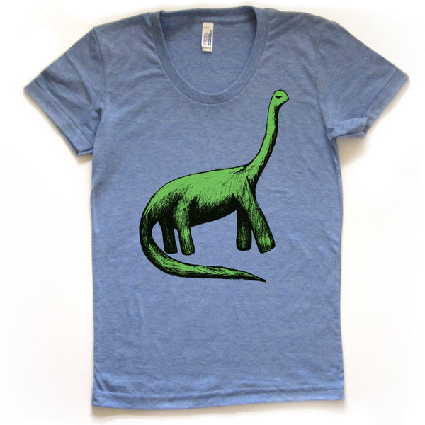 Bronto : women tri-blend tee, Women's Apparel - Megan Lee Designs