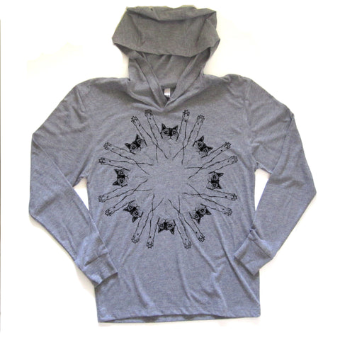 Suncats : unisex hoodie, Unisex Apparel - Megan Lee Designs