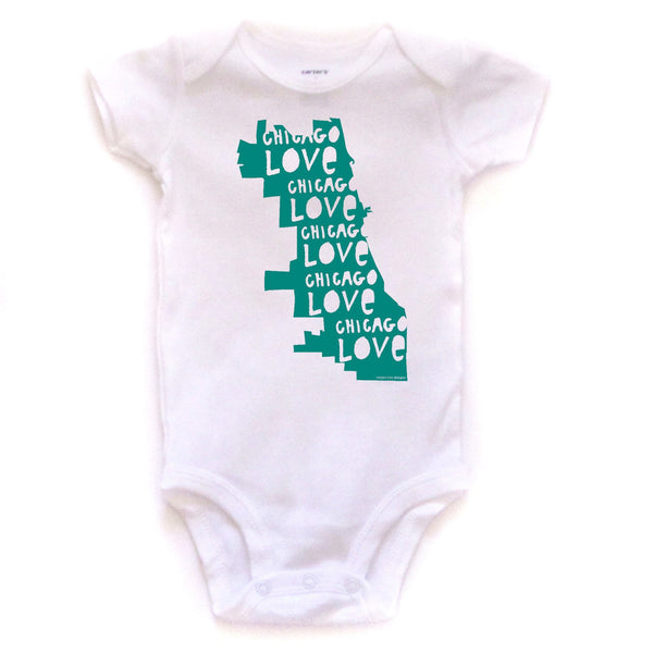 Chicago Love : bodysuit (white)