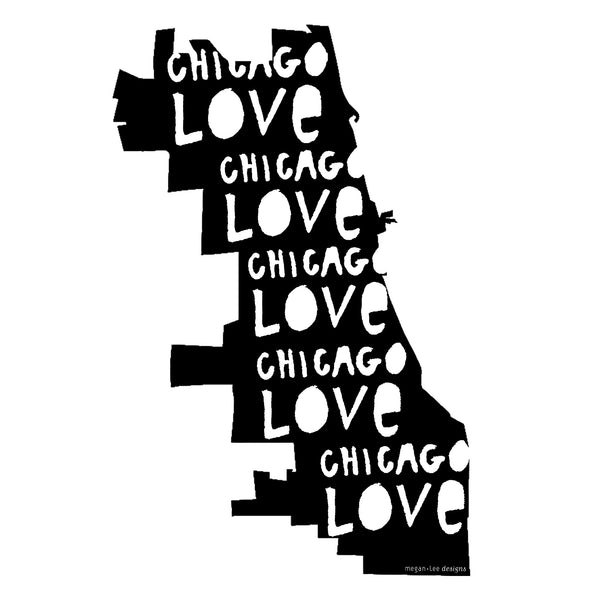 Chicago Love : tote bag, Accessories - Megan Lee Designs