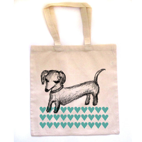 Dachshund : tote bag, Accessories - Megan Lee Designs