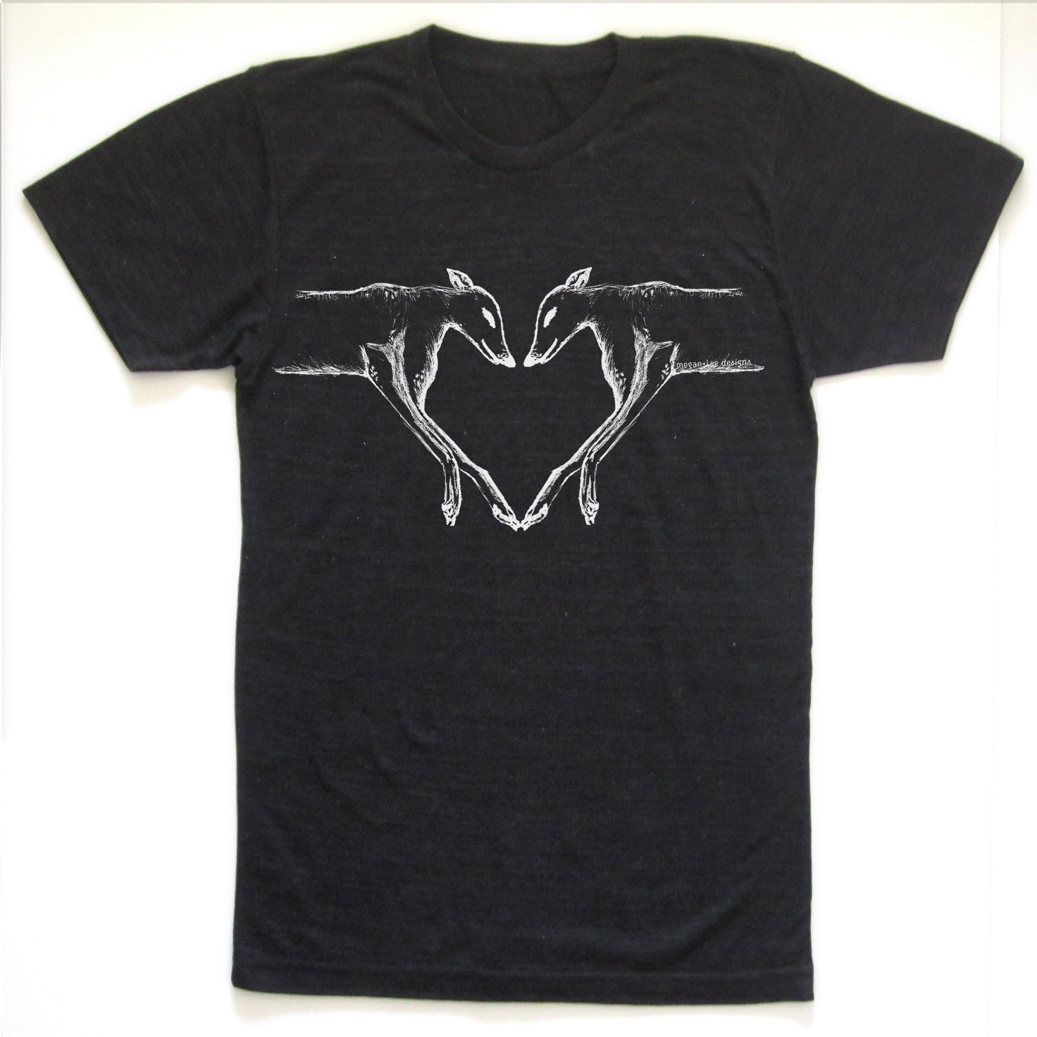 Greyhounds : unisex tri-blend tee, Unisex Apparel - Megan Lee Designs