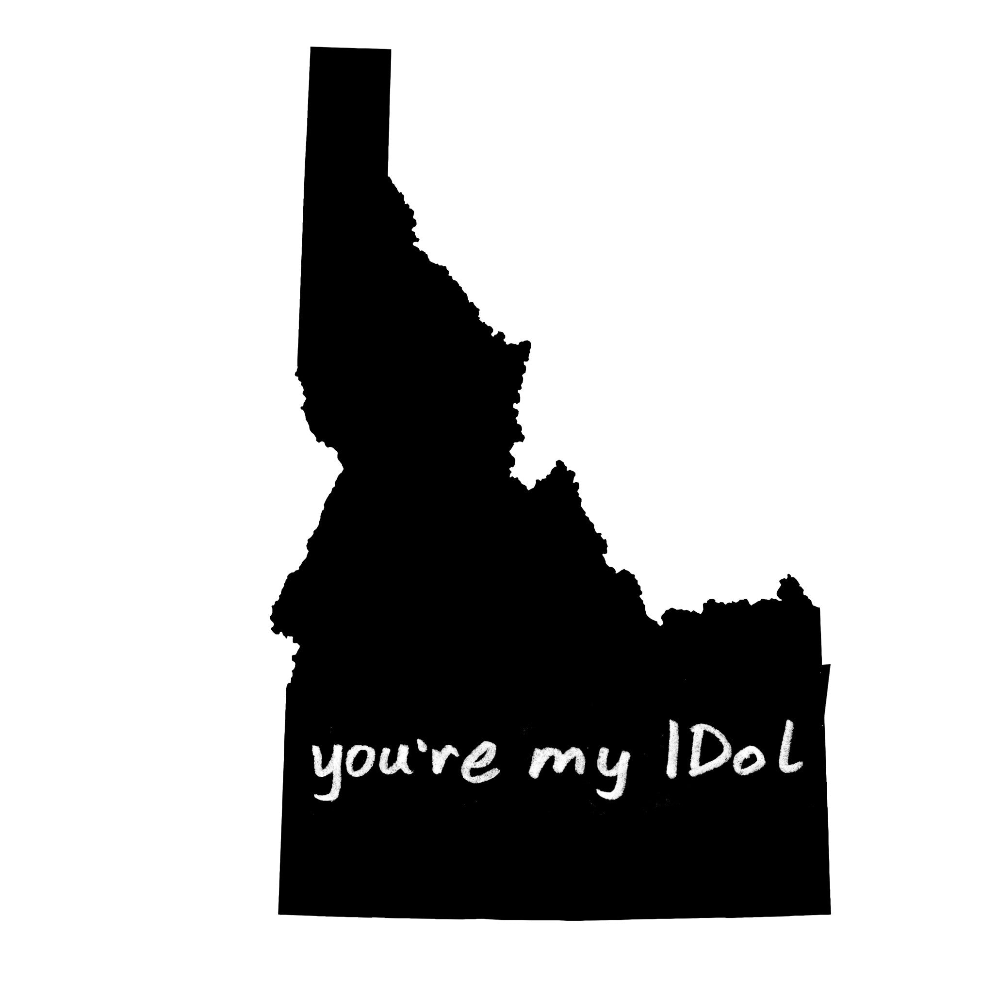 Idaho : you're my IDol unisex tri-blend tee, Unisex Apparel - Megan Lee Designs