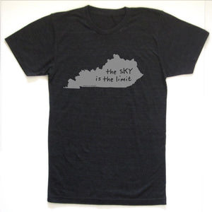 Kentucky : the sKY is the limit unisex tri-blend tee, Unisex Apparel - Megan Lee Designs