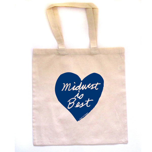 Midwest is Best : tote bag, Accessories - Megan Lee Designs