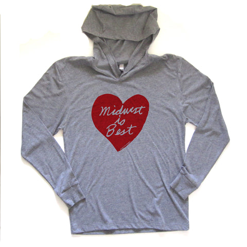 Midwest is Best : unisex hoodie, Unisex Apparel - Megan Lee Designs