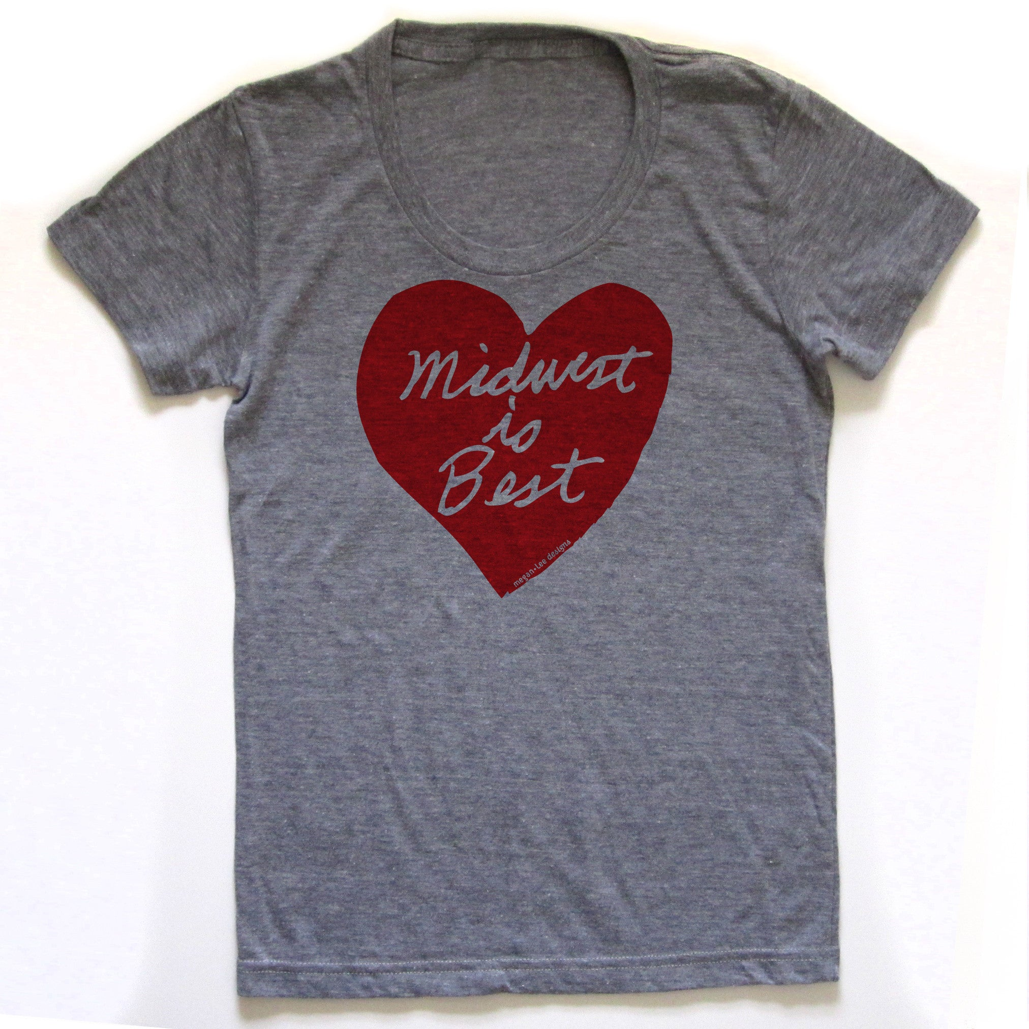 Midwest is Best t-shirt for women