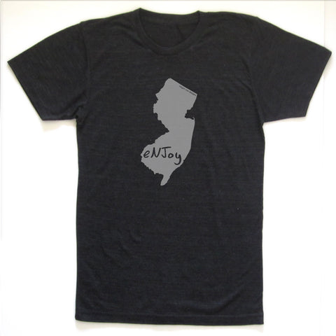 New Jersey : eNJoy unisex tri-blend tee, Unisex Apparel - Megan Lee Designs