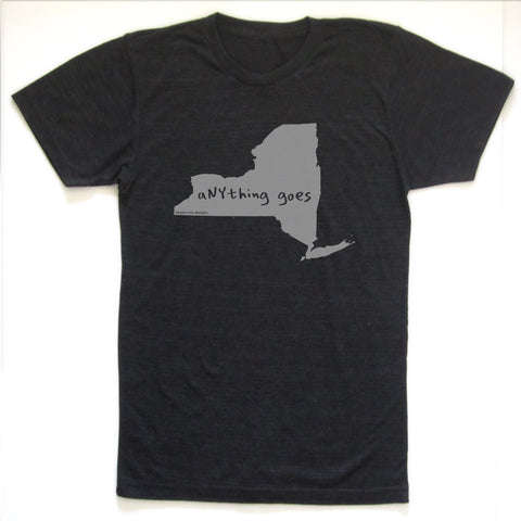 New York : aNYthing goes unisex tri-blend tee, Unisex Apparel - Megan Lee Designs