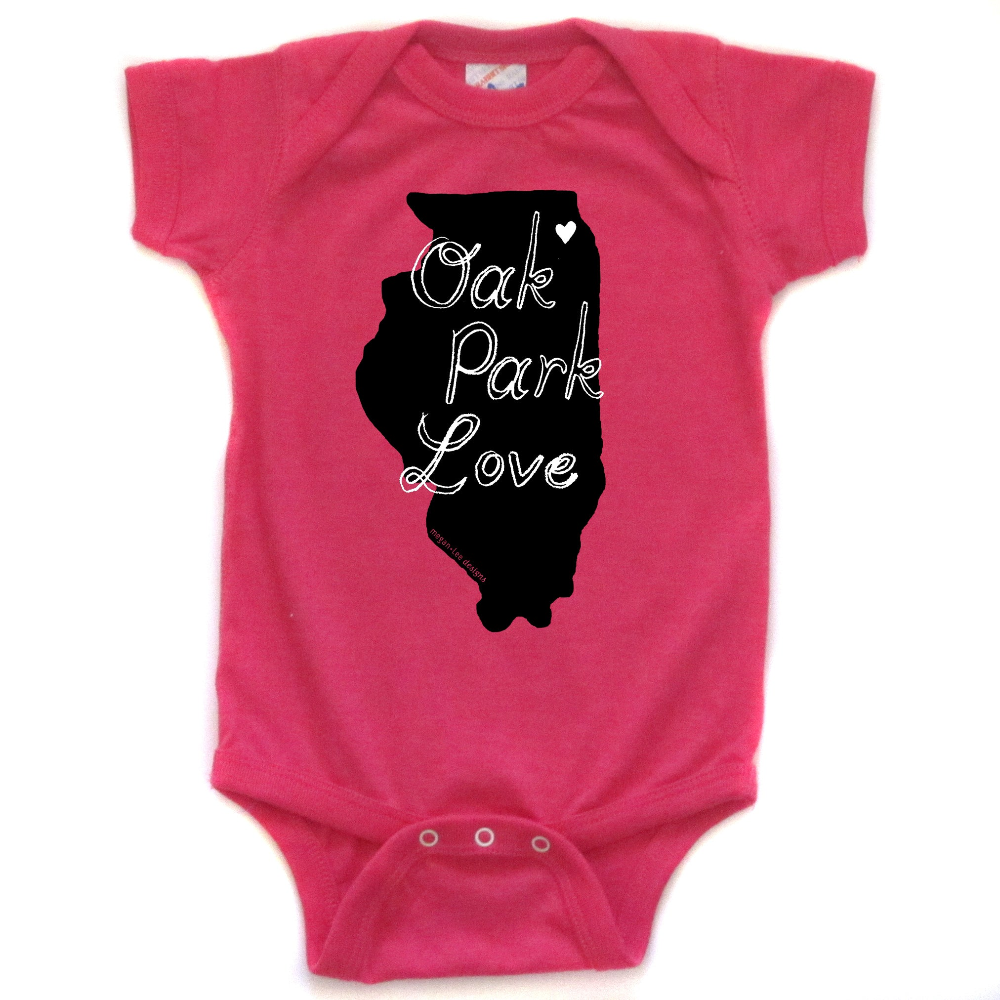 Oak Park Love : bodysuit