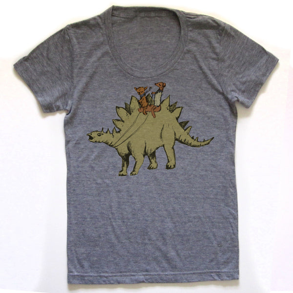 Steggosaurus T-shirt : Women, Women's Apparel - Megan Lee Designs